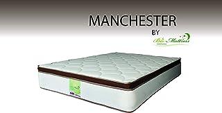 Bio Mattress Colchón Manchester King Size Ortopédico Confort Semi Firme, Colchoneta de 6 cm, 3 Años de Garantía