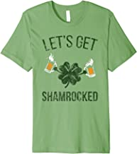 Let's Get Shamrocked Green Beer Shirt for St Pattys