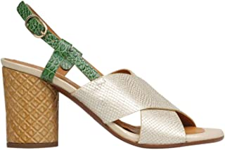 Luxury Fashion Womens CMGILESOPERAGOLD White Heels | Spring Summer 19