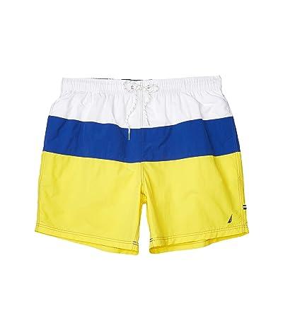 Nautica Big & Tall Big Tall Solid Swimwear (Yellow) Men
