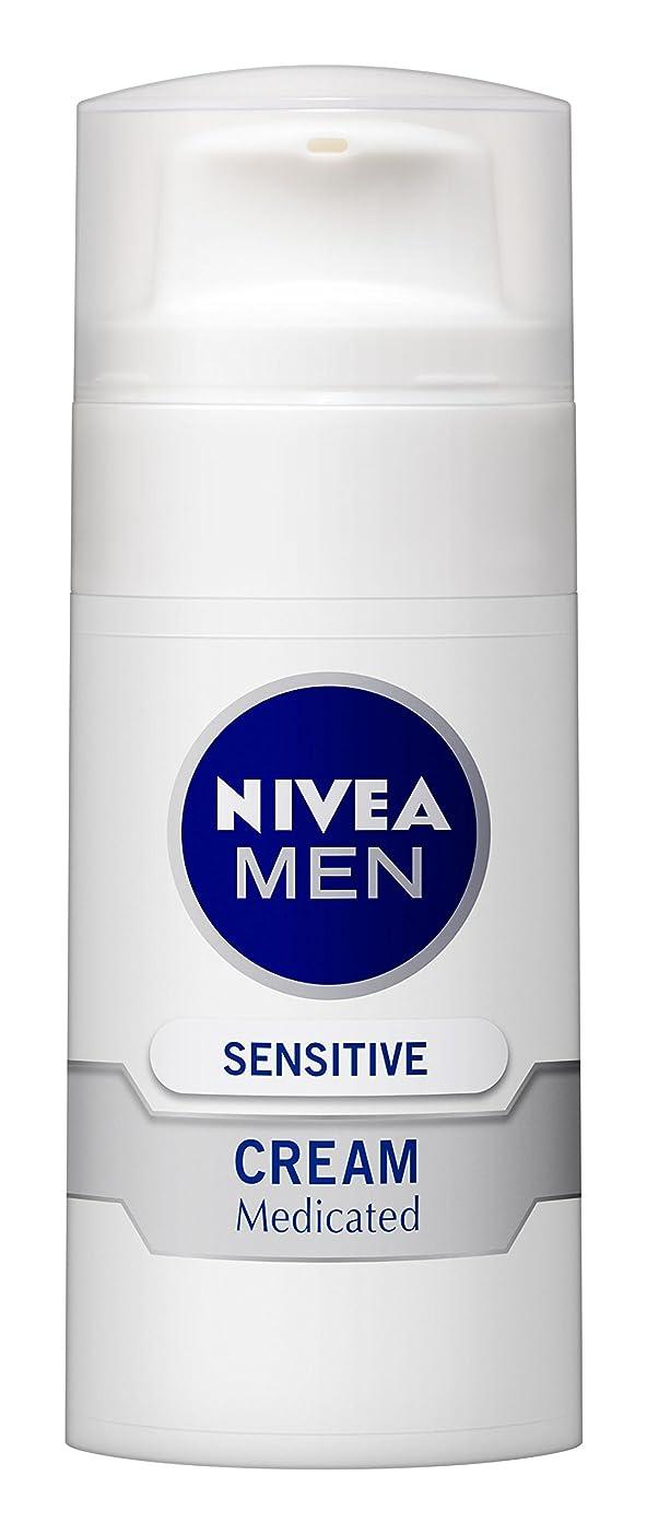 知り合い薄暗いより良いニベアメン センシティブクリーム 50g 男性用 クリーム