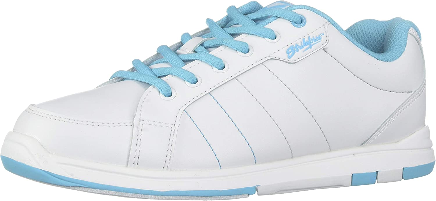 KR Strikeforce Ladies Satin Bowling shoes- White Aqua