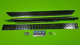 Ezgo Marathon Golf Cart Diamond Plate Side Panels and kick panel 76 to 94 1/2