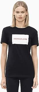 Calvin Klein Women's J208600-Black T-Shirts