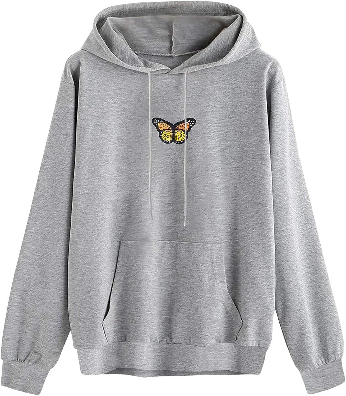 BAGELISE Sweatshirt for Women Teen Cute Max 43% OFF Girls Printed Heart Hood Super-cheap
