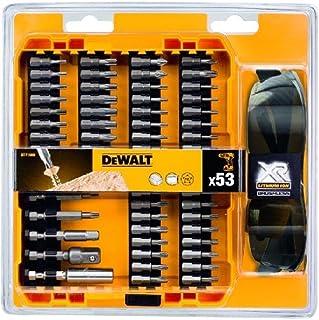 Dewalt DT71550-QZ DT71550 Screwdriver Drill Bit Set of 53 Including Safety Glasses, Pieces