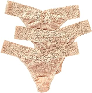463fb0334 Hanky Panky Women s Signature Lace Original Rise Thongs - One Size - (Pack  ...
