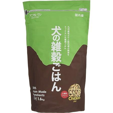 アニマル・ワン ドッグフード 犬の雑穀ごはん チキン 成犬用 1.6キログラム (x 1)