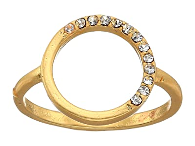 Madewell Luster Circle Ring (Vintage Gold) Ring