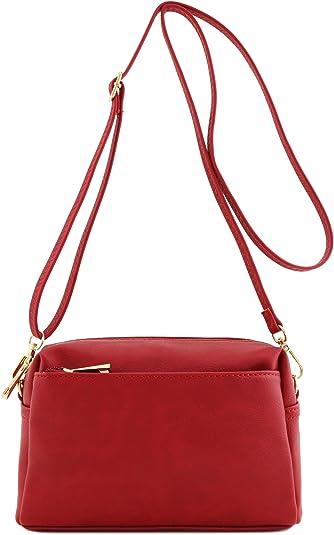 red beautiful 90s handbag and purse