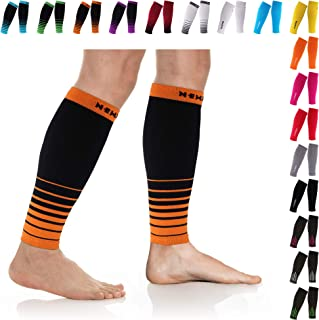 NEWZILL Compression Calf Sleeves (20-30mmHg) for Men & Women - Perfect Option to Our Compression Socks - for Running, Shin Splint, Medical, Travel, Nursing
