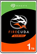 Seagate FireCuda Gaming SSHD 2.5 1TB SATA 6Gb/s Flash Accelerated (8GB) Fast Hard Drive (ST1000LX015)