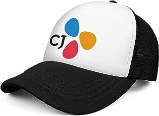 CJ_Corporation_Logo Snapback Trucker Cap Personalized Hat Curved Hats Unisex