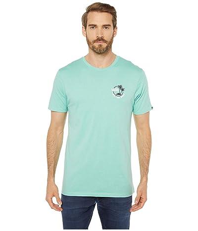 Vans Mini Dual Palm II T-Shirt (Dusty Jade Green/Black/White) Men
