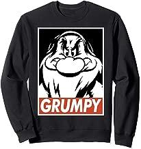 Disney Snow White Grumpy Streetwear Poster Sweatshirt