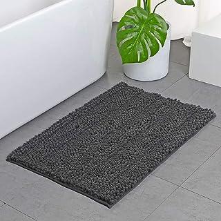 Tvscess Bathroom Rug ,Bath mat for Bathroom , Luxury Chenille Shaggy Bath Mat ,Non Slip Bath Rugs for Indoor, Bath Room, S...