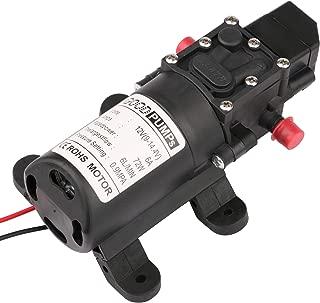 Driew Water Pressure Diaphragm Pump,12V DC Self Priming RV Fresh Water Diaphragm Booster Sprayer Pump Micropump for Garden/Car Washing/Caravan/Boat/Marin
