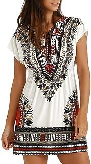e0b5abfad16 Amazon.fr   robe africaine   Vêtements