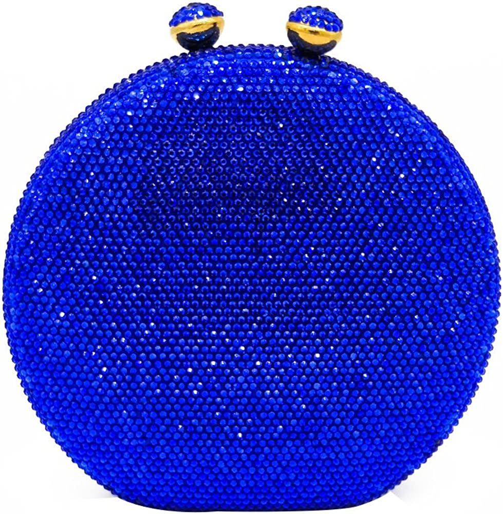 Round Circular Department store Women Crystal Clutch Bag Outlet ☆ Free Shipping Evening Handbags and Pur