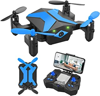 Drone with Camera Drones for Kids Beginners, RC Quadcopter with App FPV Video, Voice Control,...