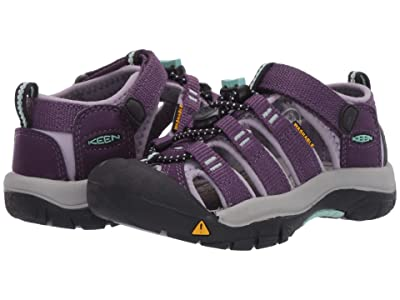 Keen Kids Newport H2 (Toddler/Little Kid) (Purple Pennant/Lavender Gray) Girls Shoes