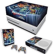 Capa Anti Poeira e Skin para Xbox One S Slim - Megaman Legacy Collection