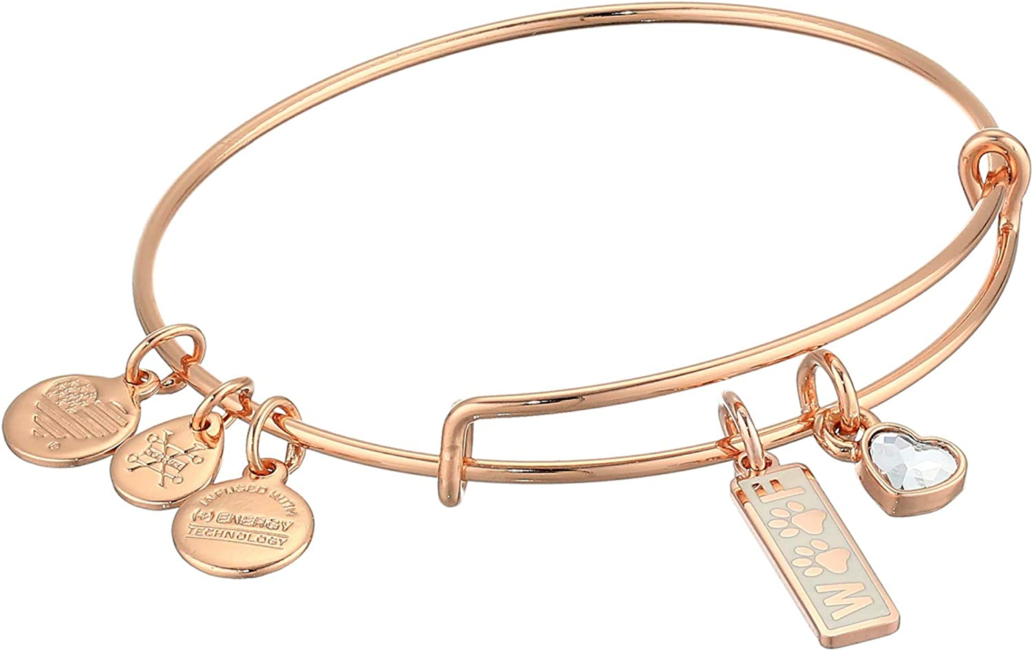 Alex and Ani Beauty products Expandable Wire Bangle Woof for Duo Women Bracelet overseas