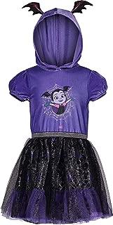 Disney Vampirina Toddler Girls' Costume Hoodie Ruffle Tutu Dress