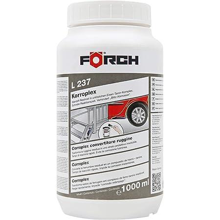 Foerch L237 Korroplex Convertisseur de rouille 1000ml avec temps de reacute action rapide
