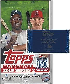 2019 Topps Series 2 MLB Baseball HOBBY box (36 pk, 1 bonus pack)