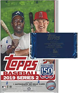 2019 Topps Series 2 MLB Baseball HOBBY box (24 pk, 1 bonus pack)