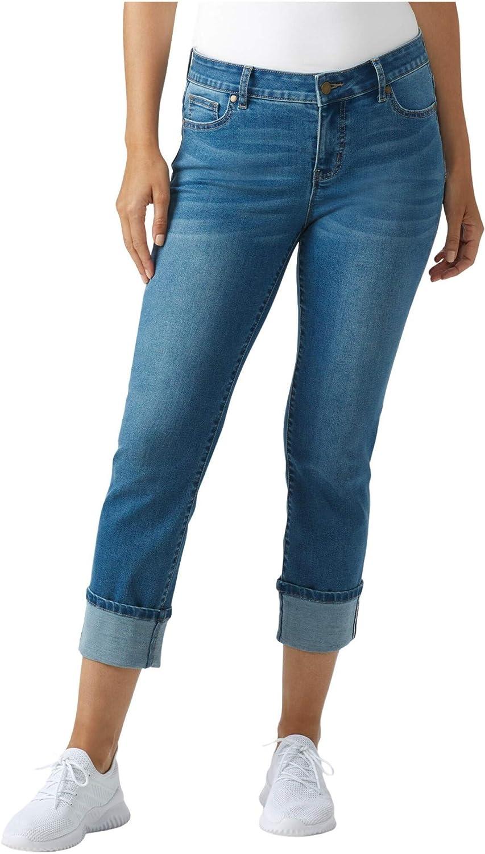 Dressbarn Women's Westport Signature 5 Jean Girlfriend wi Pocket shop Ranking TOP9