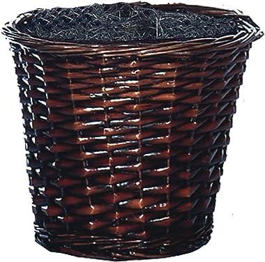 Vickerman 4-Feet Artificial Capensia Bush in Decorative Rattan Basket
