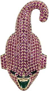 New Dragon Ball Super Majin Buu Pendant Necklace Hip Hop Gold Silver Color Men Women Charms Chain Jewelry