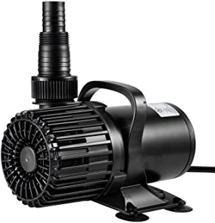 Best VIVOSUN 2600 GPH Submersible Water Pump 120W Ultra Quiet Pump with 20.3ft Power Cord High Lift for Pond Waterfall Fish Tank Statuary Hydroponic Review