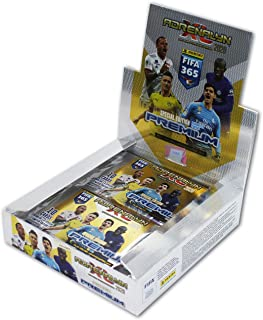Panini 003383D Adrenalyn XL - Tarjetas coleccionables para FIFA 365, temporada 2019/2020, edición prémium, pantalla, 10 tarjetas por Booster, multicolor , color/modelo surtido