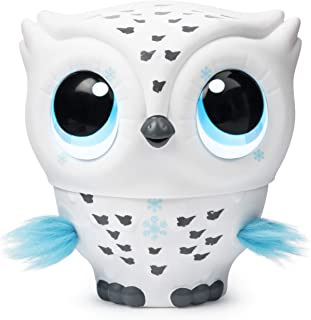Owleez, Flying Baby Owl Interactive Toy with Lights and Sounds (White), for Kids Aged 6 and Up (6054589)