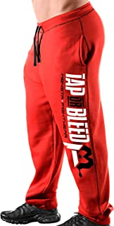 TAP OR Bleed Sweatpants Red-283