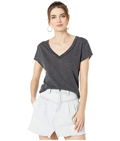 Free People Kaylen Tee (Black) Women
