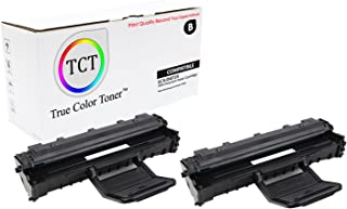 TCT Premium Compatible Toner Cartridge Replacement for Samsung SCX-D4725A Black Works with Samsung SCX-4725F 4725FN Printers (3,000 Pages) - 2 Pack