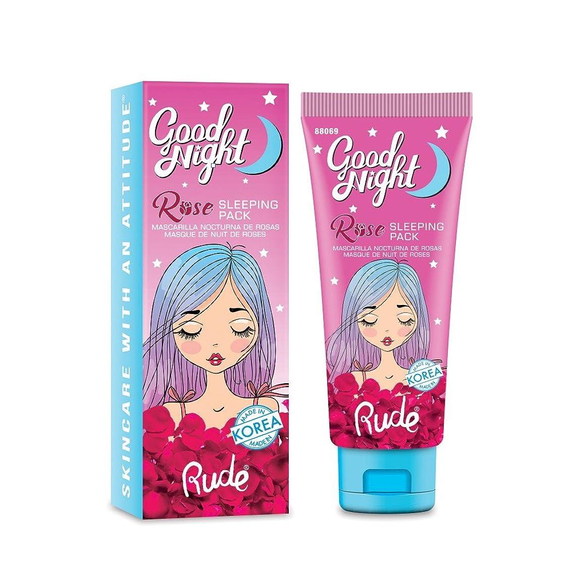 放つ建物光沢のある(6 Pack) RUDE Good Night Rose Sleeping Pack (並行輸入品)