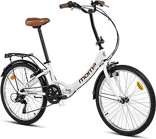 comprar comparacion Moma Bikes Bicicleta Plegable Urbana SHIMANO TOP CLASS 24
