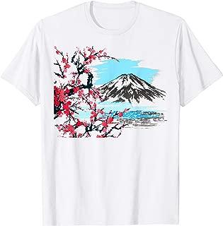 Japanese Art Traditional Woodblock Art Design T-Shirt