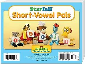 Starfall Short-Vowel Pals 16 Decodable Phonics Books