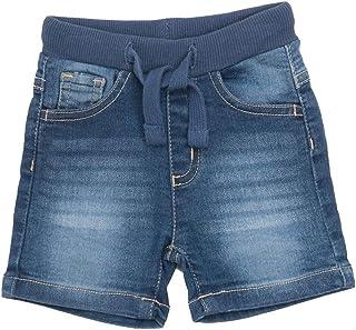 BABY-BOL - Pantalón Tejano Oscuro Corto bebé-niños