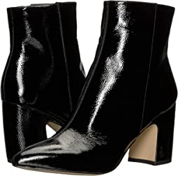 e71205a1005571 Black Goat Crinkle Patent Leather