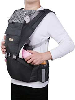 Plaisiureux 抱っこ紐 ヒップシート 抱っこひも だっこひも おんぶ紐 多機能 新生児 赤ちゃん