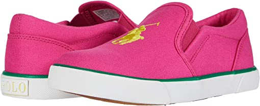 Sport Pink Canvas/Yellow Polo Print