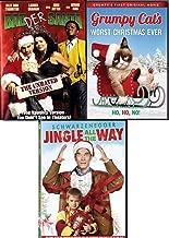 Oh No Ho Ho! Holiday 3-Movie Comedy Bundle - Bad Santa + Grumpy Cat Worst Christmas Eve & Jingle All The Way 3-DVD Naughty Cheer Collection