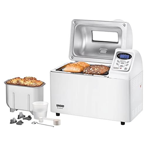 Unold 68511 - Máquina de hacer pan, 700W, color blanco [Importado de Alemania